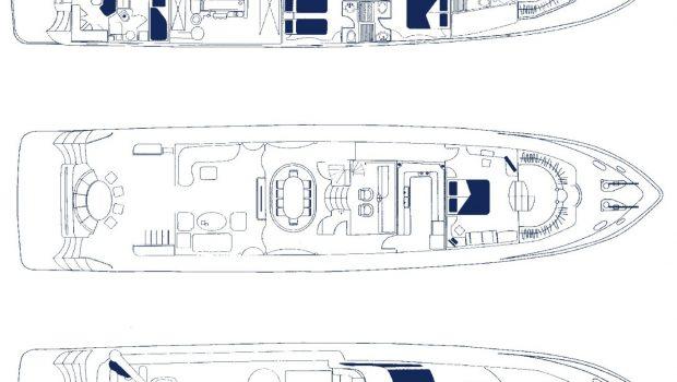 dream b motor yacht layout min -  Valef Yachts Chartering - 4771