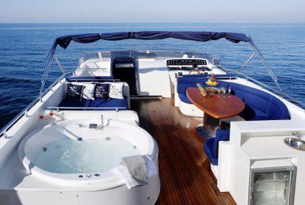 dream b motor yacht sundeck2 min -  Valef Yachts Chartering - 4762