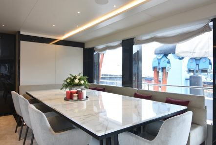 eden mega yacht dining table min -  Valef Yachts Chartering - 4897