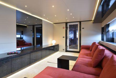 eden mega yacht entrance deck lounge (1) min -  Valef Yachts Chartering - 4921