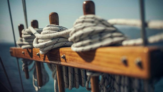 entre cielos gullet ropes min -  Valef Yachts Chartering - 3824