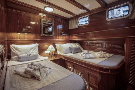 entre cielos gullet triple cabin hypatia1 min -  Valef Yachts Chartering - 3834