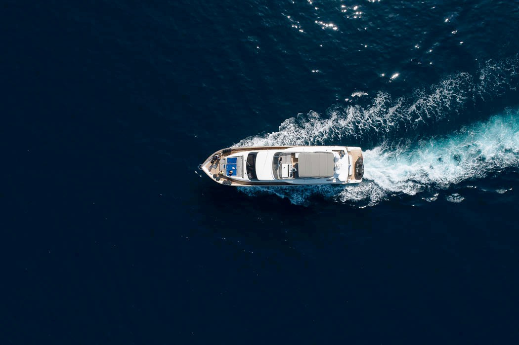 freedom motor yacht aerial -  Valef Yachts Chartering - 0581
