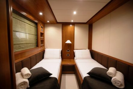 freedom motor yacht twin cabins (2) -  Valef Yachts Chartering - 0576