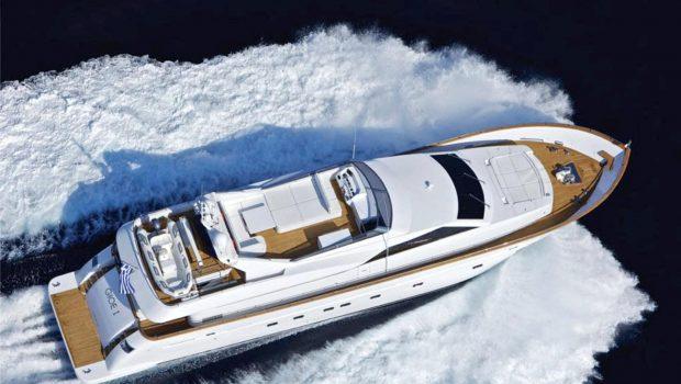 gioe i motor yacht aerial min -  Valef Yachts Chartering - 4096