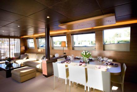 gioe i motor yacht dining min -  Valef Yachts Chartering - 4105