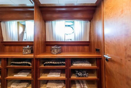 gorgeous motor yacht closet min -  Valef Yachts Chartering - 3951