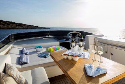 gorgeous motor yacht sundeck min -  Valef Yachts Chartering - 3928