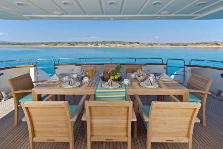helios motor yacht aft deck min -  Valef Yachts Chartering - 4571