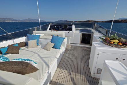 helios motor yacht sundeck (1) min -  Valef Yachts Chartering - 4558