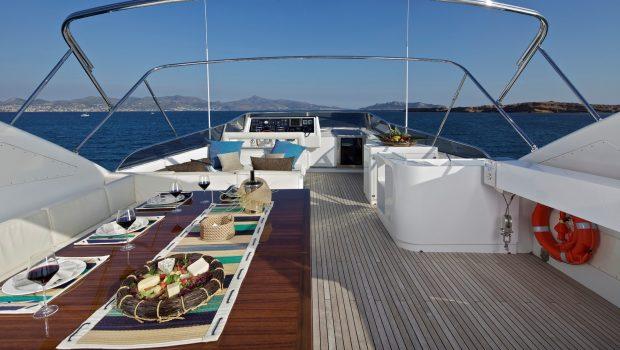 helios motor yacht sundeck (3) min -  Valef Yachts Chartering - 4556