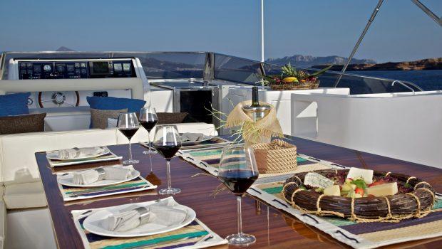 helios motor yacht sundeck (4) min -  Valef Yachts Chartering - 4555
