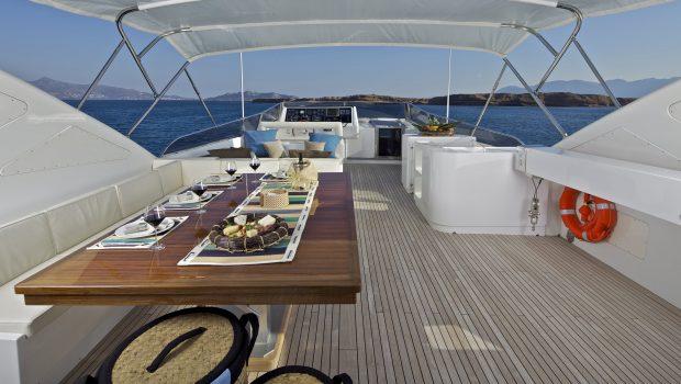 helios motor yacht sundeck (5) min -  Valef Yachts Chartering - 4554