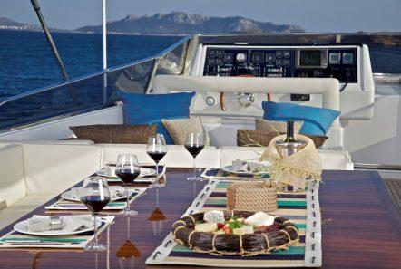 helios motor yacht sundeck (6) min -  Valef Yachts Chartering - 4552