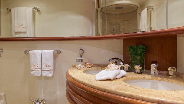 iris azimut motor yacht cabins and baths (1) -  Valef Yachts Chartering - 4523