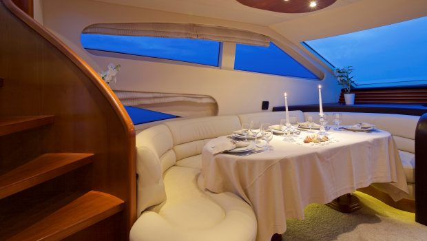 iris azimut motor yacht dining (2) -  Valef Yachts Chartering - 4505