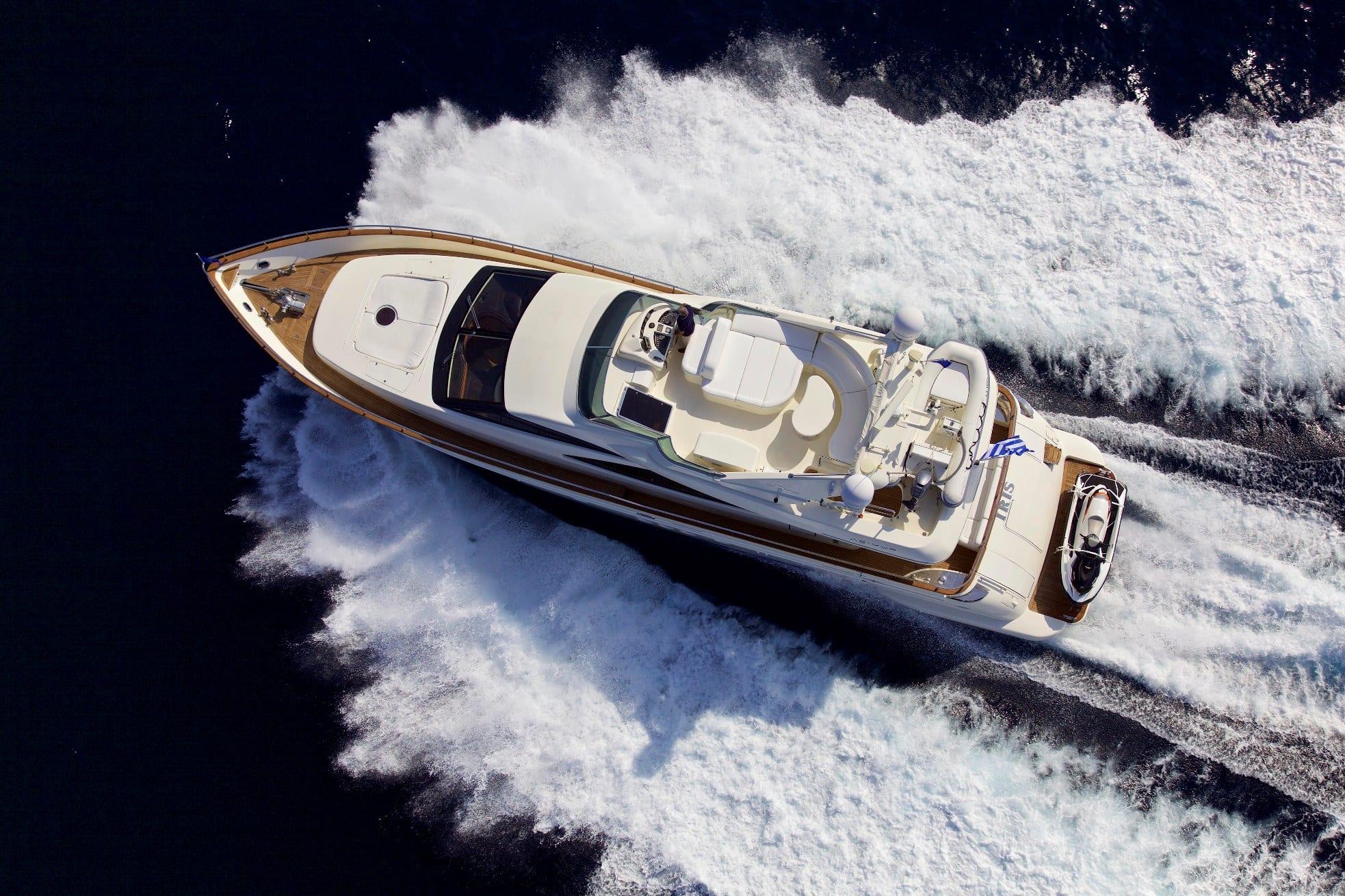 iris azimut motor yacht exterior (6) -  Valef Yachts Chartering - 4500