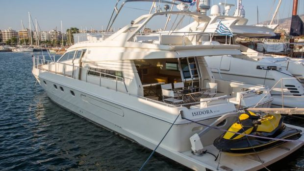 isadora ferretti motor yacht aft min -  Valef Yachts Chartering - 5272