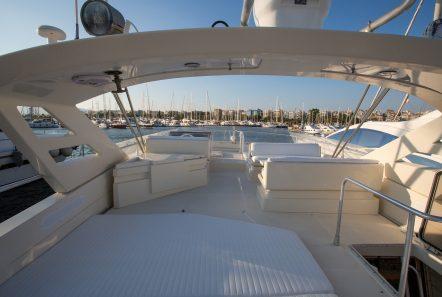 isadora ferretti motor yacht upper deck min -  Valef Yachts Chartering - 5264