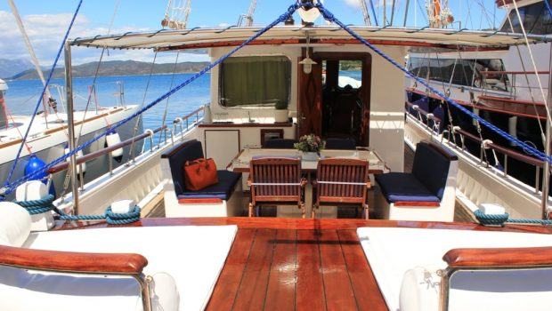 joanna k greek motor sailer entrance min -  Valef Yachts Chartering - 4392