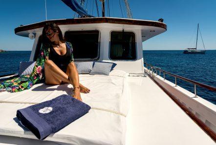 joanna k greek motor sailer fore (1) min -  Valef Yachts Chartering - 4391