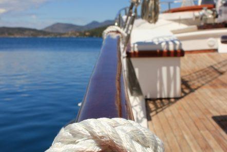 joanna k greek motor sailer fore (2) min -  Valef Yachts Chartering - 4405