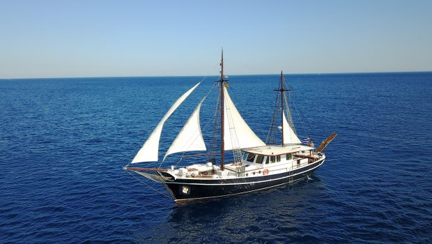 joanna k greek motor sailer profile min -  Valef Yachts Chartering - 4387