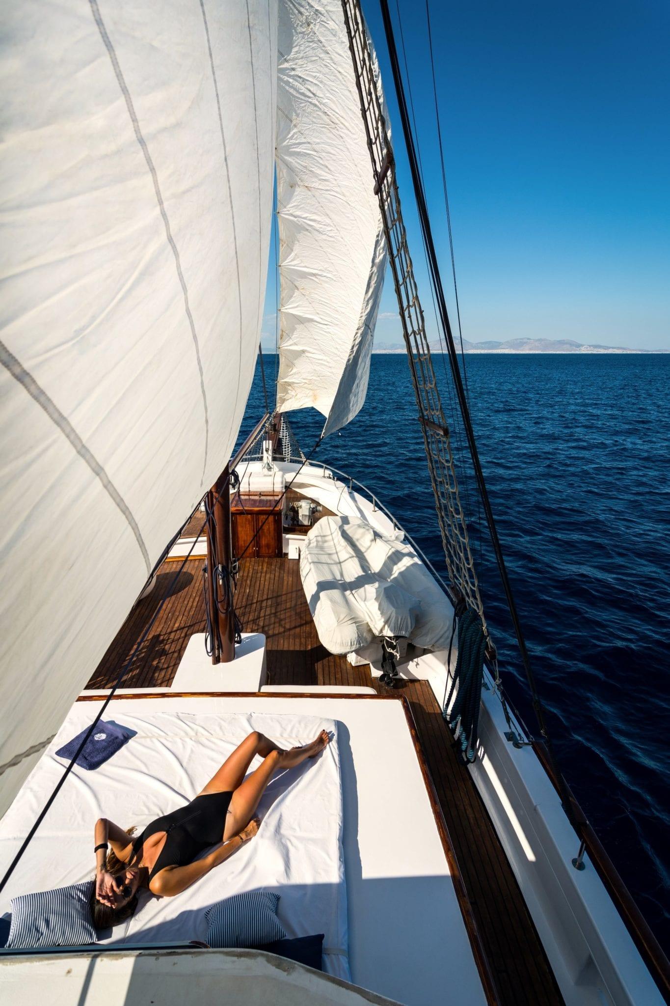 joanna k greek motor sailer sunning (2) min -  Valef Yachts Chartering - 4380
