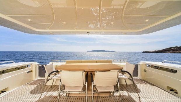 julie m motor yacht aft deck min -  Valef Yachts Chartering - 3925