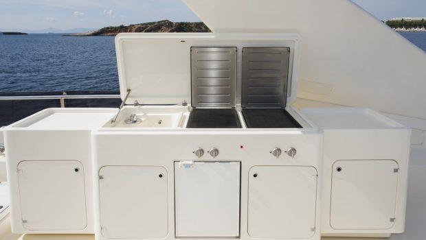 julie m motor yacht bbq min -  Valef Yachts Chartering - 3921
