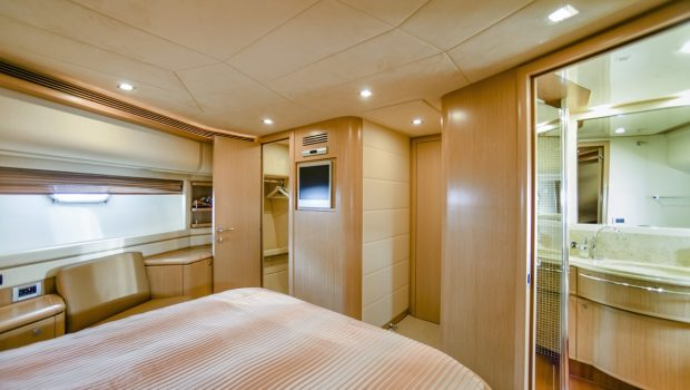 julie m motor yacht cabins (1) min -  Valef Yachts Chartering - 3920