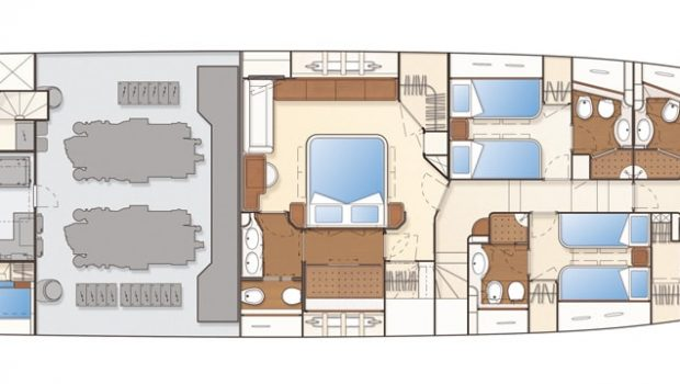 julie m motor yacht deck plan (1) min -  Valef Yachts Chartering - 3910