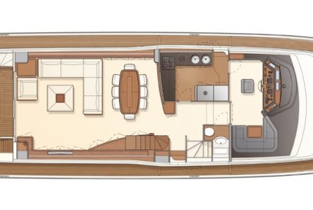 julie m motor yacht deck plan (2) min -  Valef Yachts Chartering - 3909