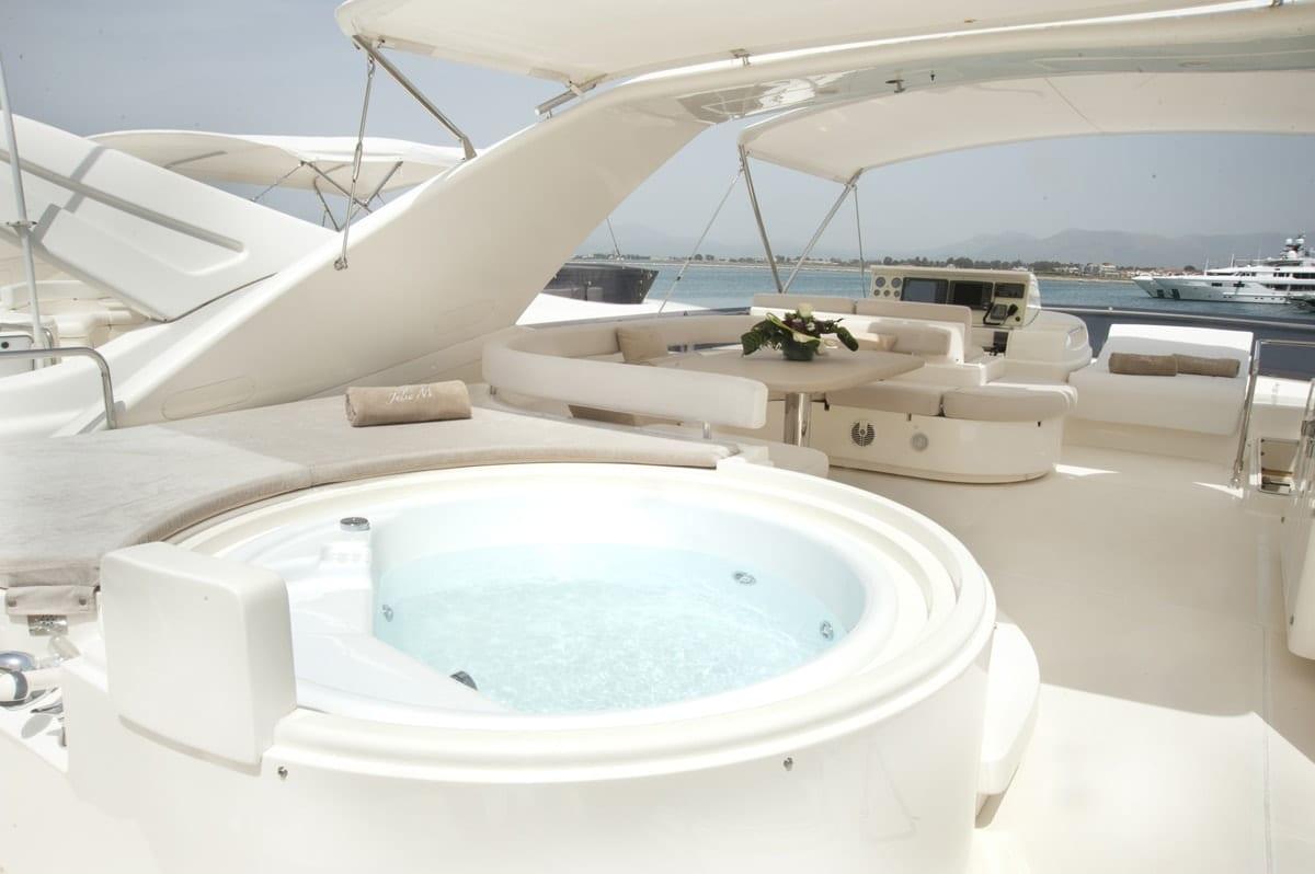julie m motor yacht jacuzzi min -  Valef Yachts Chartering - 3898