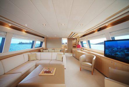 julie m motor yacht salon (1) min -  Valef Yachts Chartering - 3896