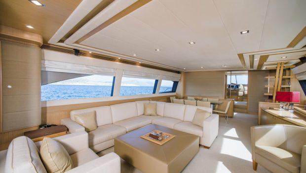 julie m motor yacht salon (2) min -  Valef Yachts Chartering - 3895