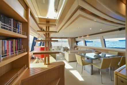 julie m motor yacht salon (4) min -  Valef Yachts Chartering - 3893