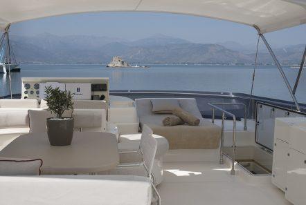 julie m motor yacht sundeck (3) -  Valef Yachts Chartering - 3907