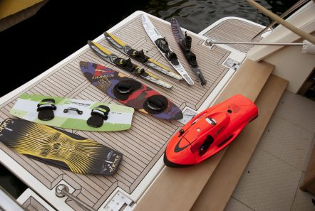 julie m motor yacht swim platform (1) -  Valef Yachts Chartering - 3906