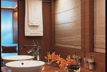 kintaro motor yacht cabins and baths (1) min -  Valef Yachts Chartering - 4548