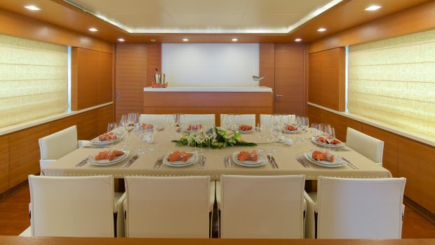 kintaro motor yacht dining (2) min -  Valef Yachts Chartering - 4540
