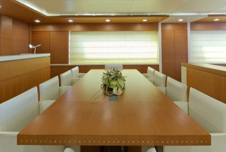 kintaro motor yacht dining (4) min -  Valef Yachts Chartering - 4538