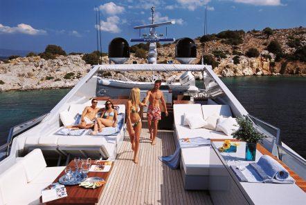 kintaro motor yacht sundeck min -  Valef Yachts Chartering - 4529