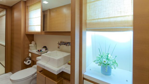 kintaro motor yacht wc at playroom conv. cabin min -  Valef Yachts Chartering - 4528