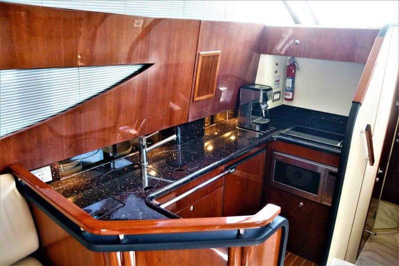 liazeta motor yacht galley_valef -  Valef Yachts Chartering - 5017