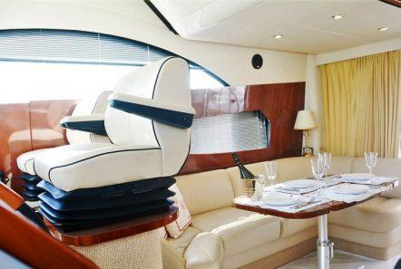 liazeta motor yacht salon dining (1)_valef -  Valef Yachts Chartering - 5015
