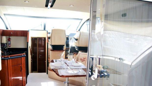 liazeta motor yacht salon dining (4)_valef -  Valef Yachts Chartering - 5012
