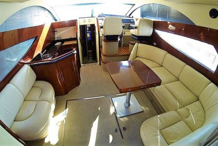 liazeta motor yacht salon wide_valef -  Valef Yachts Chartering - 5010