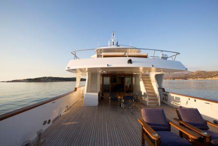 libra y motor yacht sunset deck (1) min -  Valef Yachts Chartering - 3682
