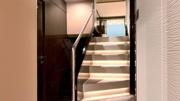 makani motor yacht stairs min -  Valef Yachts Chartering - 4141